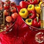 Wat te drinken bij het kerstdiner: tomatenwijn en paprikawijn van Vinivega!