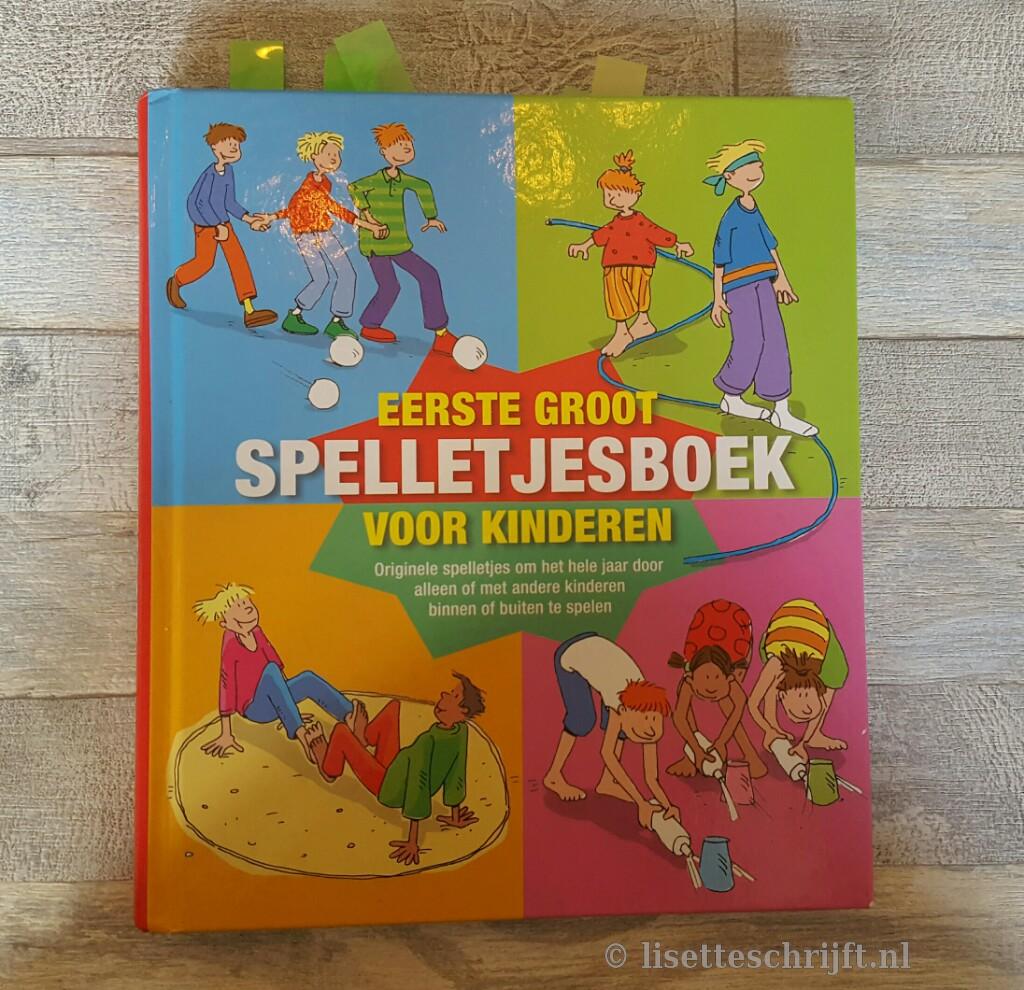 spelletjesboek vakantie kind verveelt zich
