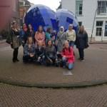 Delft binnenstad markt blauw hart delfts blauw Lisette Schrijft bloggerstour