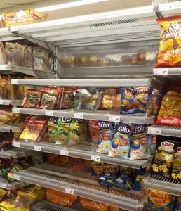 chips uitdeelzakken uitverkocht voor traktatie
