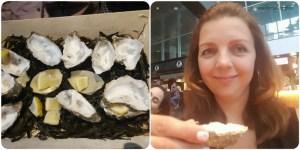 oesters eten bij zilt en zalig in hofhouse den haag Lisette Schrijft
