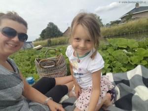 picknicken langs het water met dochterlief Lisette Schrijft
