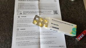 antibiotica voor blaasontsteking bij apotheek gehaald