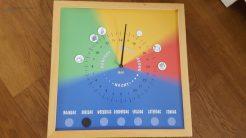 kleurenklok voor autistische kinderen Lisette Schrijft
