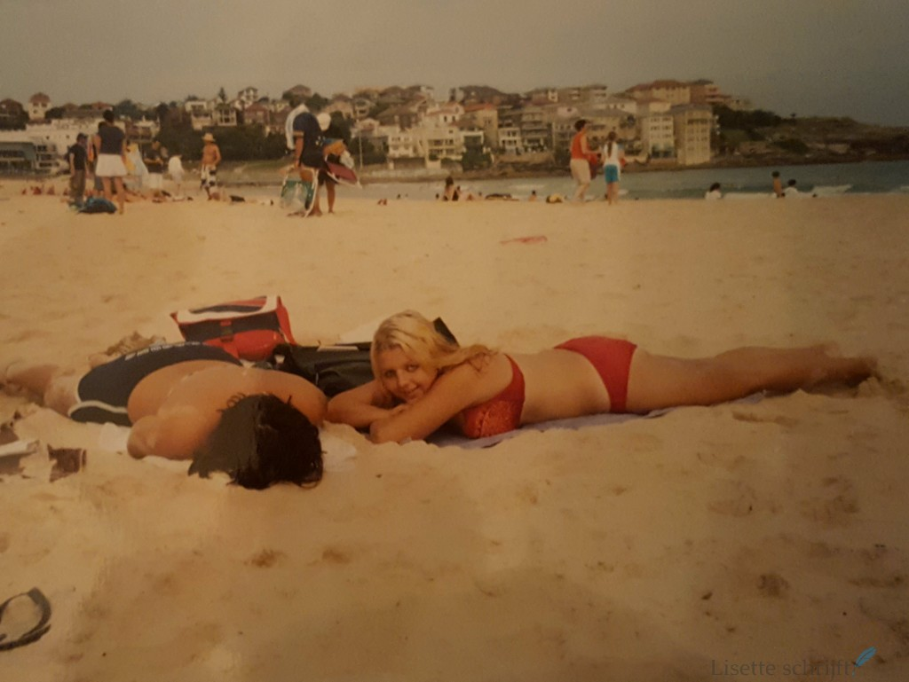 Even zonnen op Bondi Beach, in januari... Lisette Schrijft