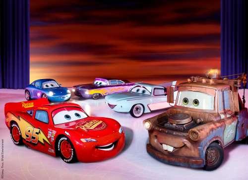 cars bij disney on ice Lisette Schrijft