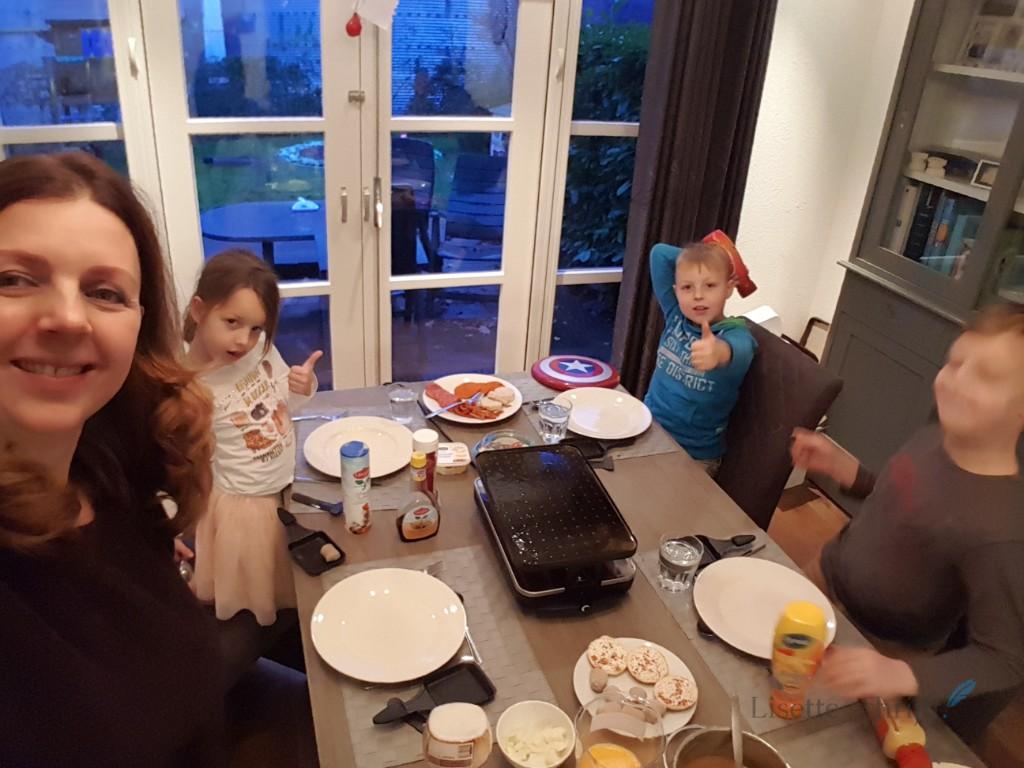 gourmetten met sinterklaasavond Lisette Schrijft