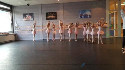 ballet van dochter Lisette Schrijft