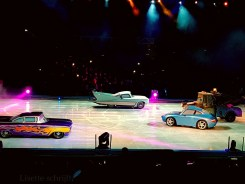 cars auto's bij disney on ice Lisette Schrijft