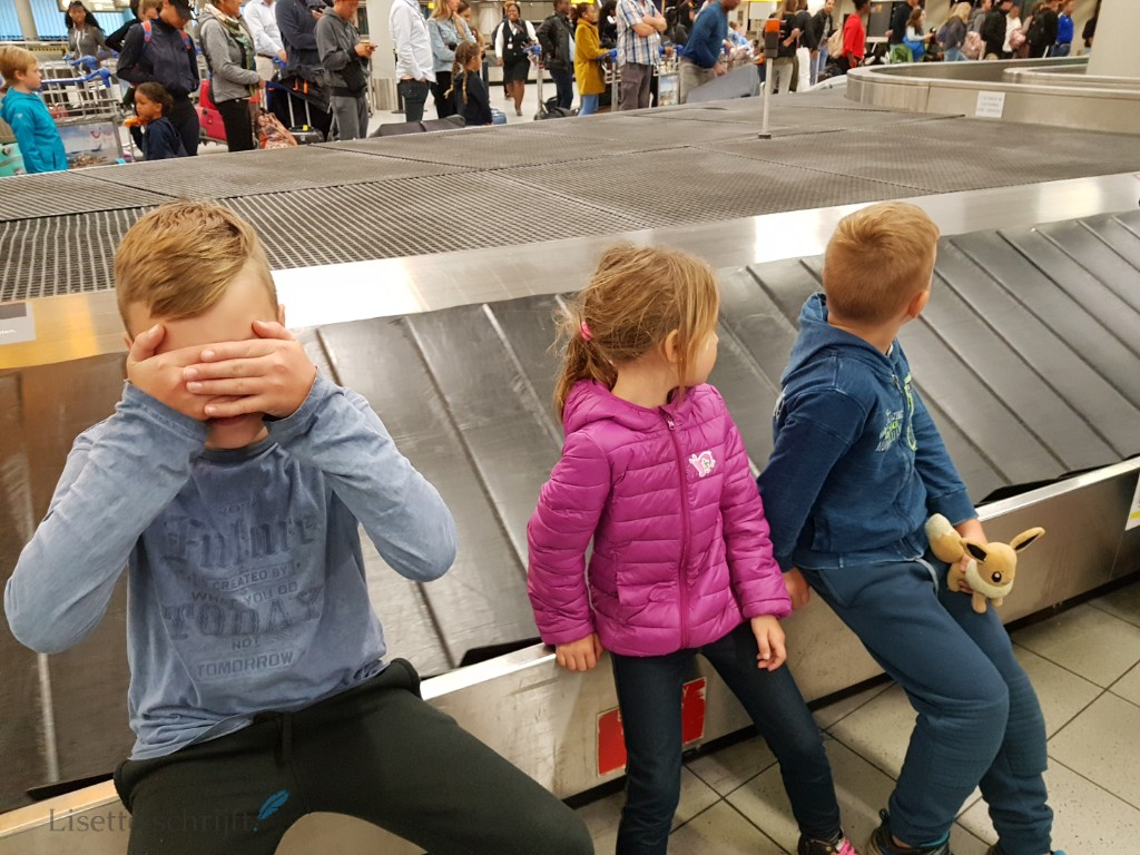 bagageband Schiphol lisette schrijft
