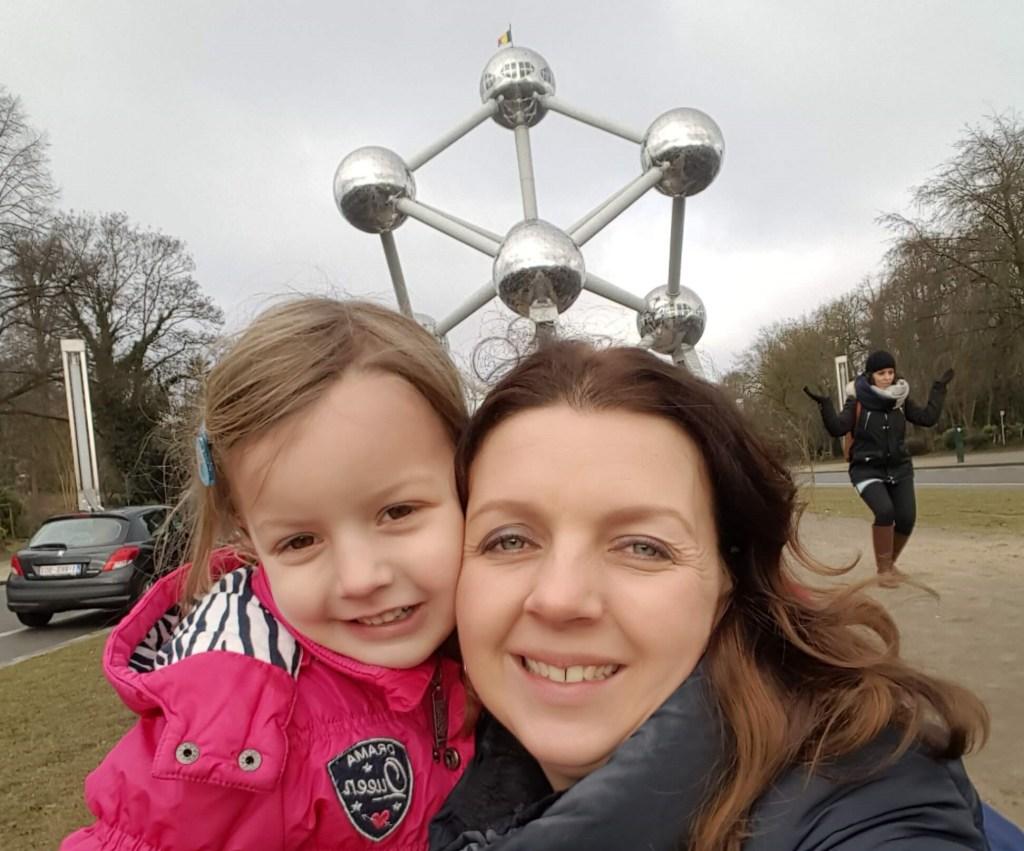 brussel stedentrip met kinderen atomium tips Lisette Schrijft
