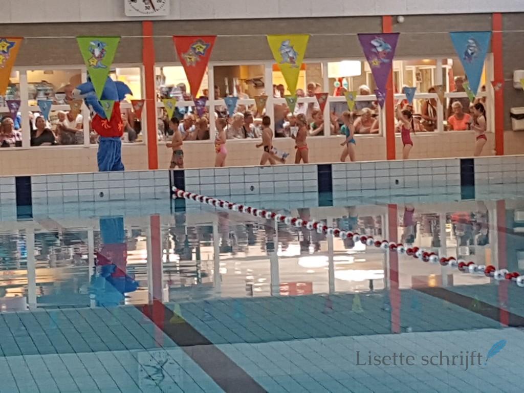 diplomazwemmen wat een feest Lisette Schrijft
