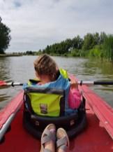 kanovaren met kind Lisette Schrijft