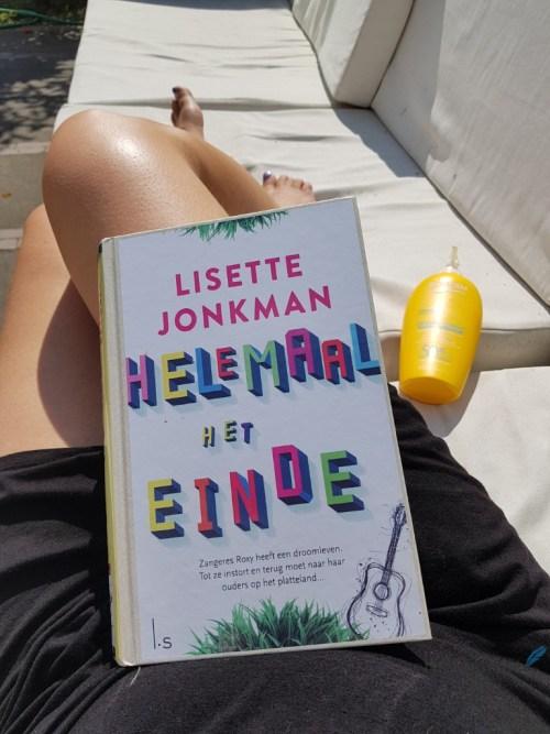 Boek Helemaal het Einde van Lisette Jonkman