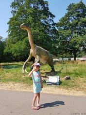 parkeren bij Jurassic kingdom schiedam
