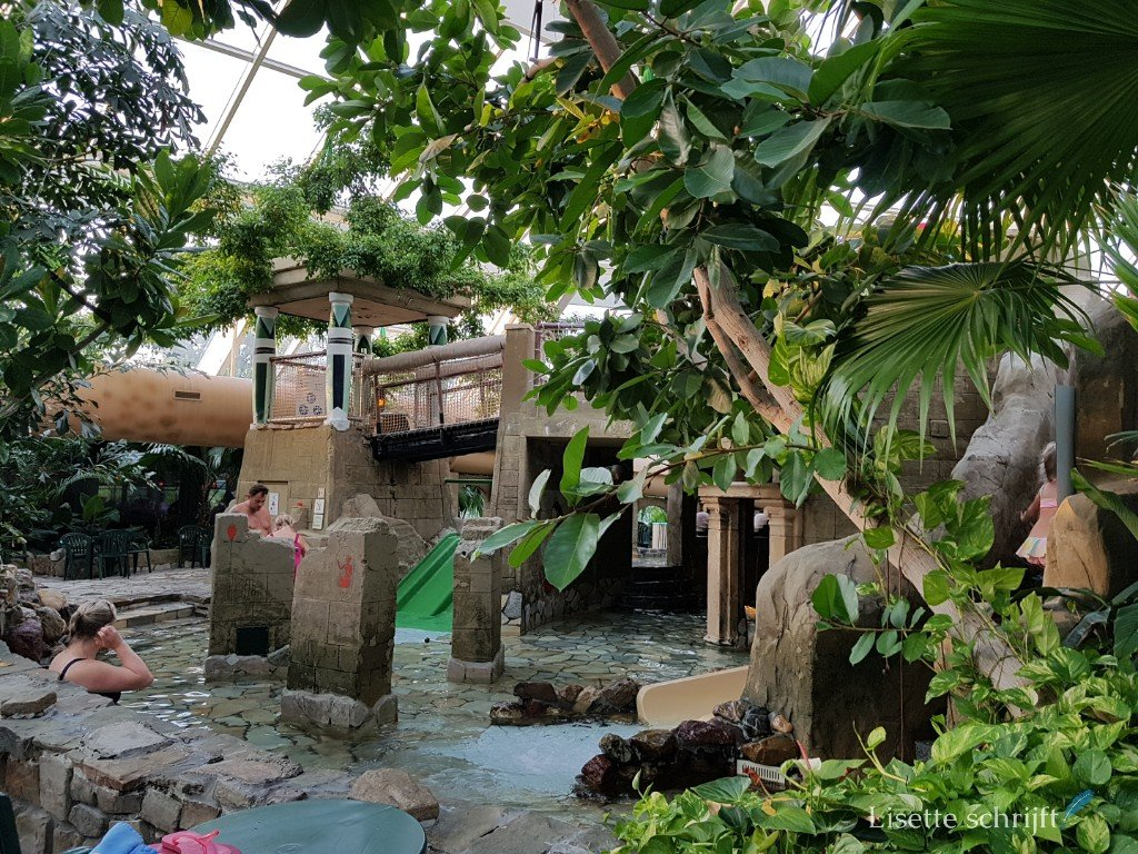 Het peuterbad bij Aqua Mundo van Center Parcs de Kempervennen