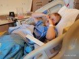middelste zoon geopereerd Lisette Schrijft