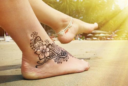 tattoo op je voet Lisette Schrijft