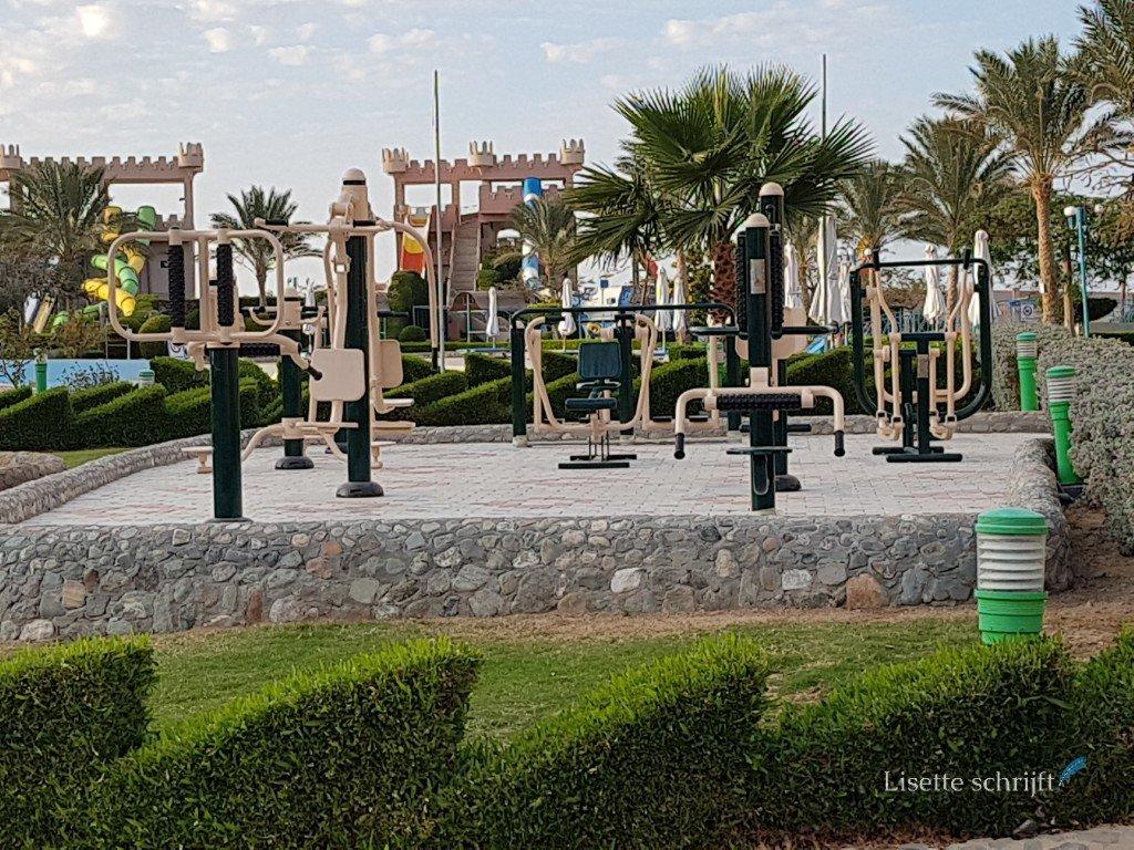speeltuin bij hotel akassia in egypte