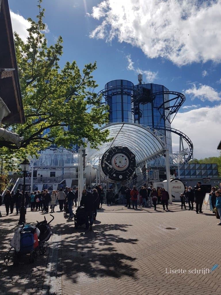 De Euro-Mir een van de achtbanen in Europa-Park