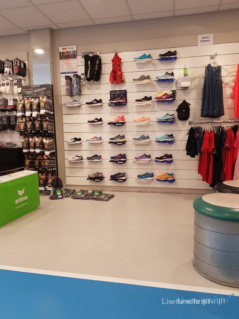 Winkel waar je hardloopschoenen kan kopen