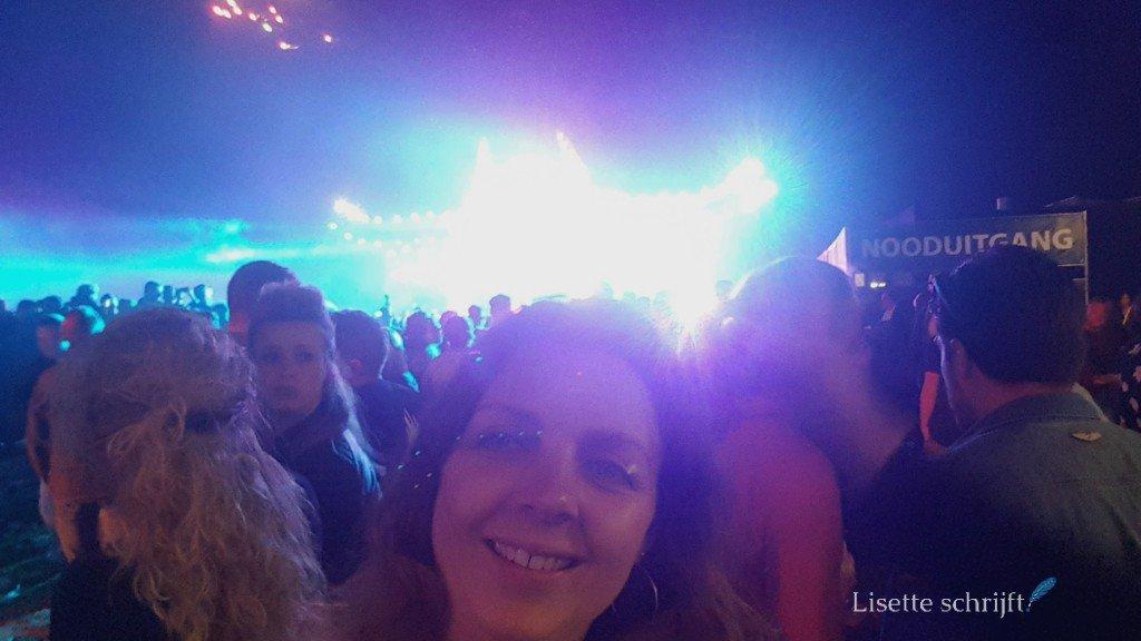 Lisette Schrijft op een festival