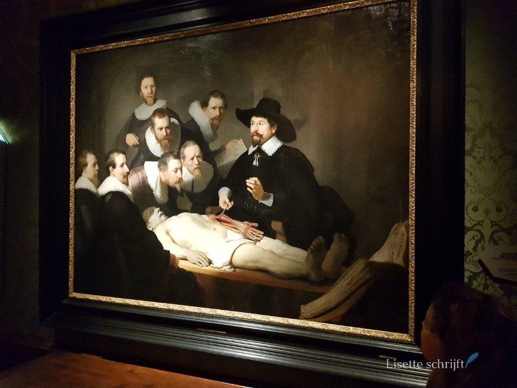 Een echte Rembrandt in het Mauritshuis
