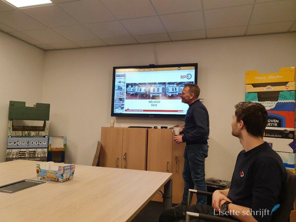 presentatie bij BOIX