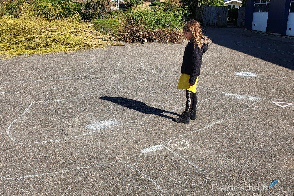 verkeerspark maken met hoogbegaafde kinderen