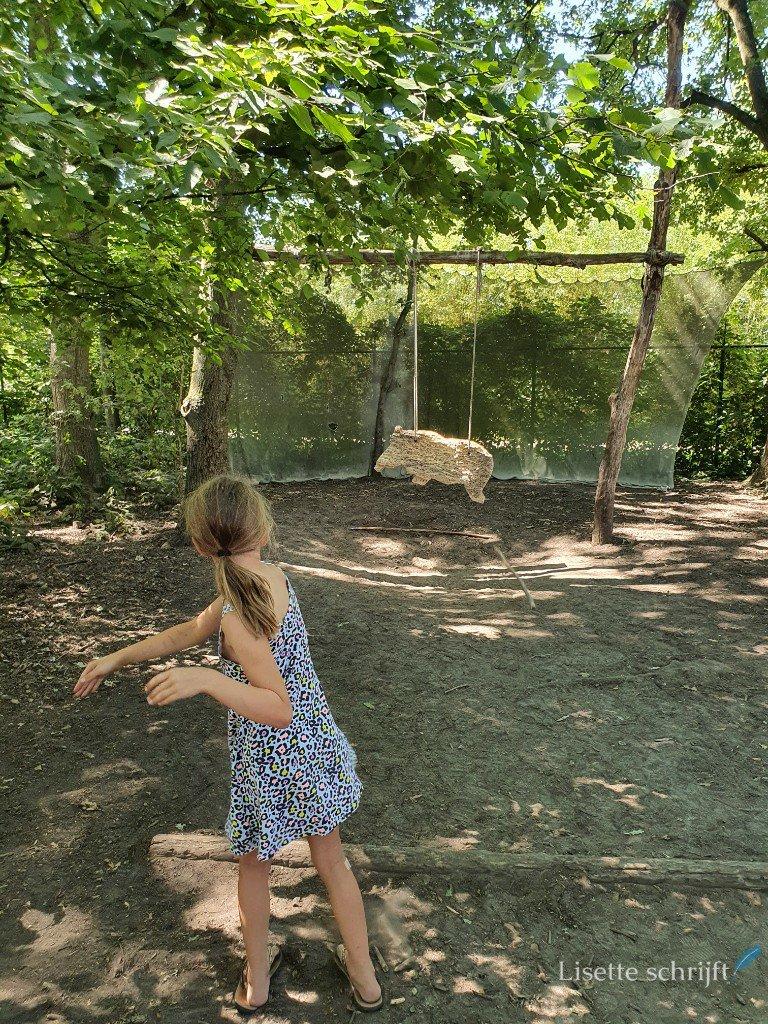 speerwerpen bij PreHistorisch dorp eindhoven
