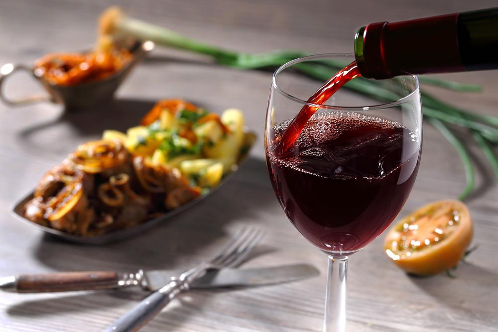 rode wijn bij populaire gerechten