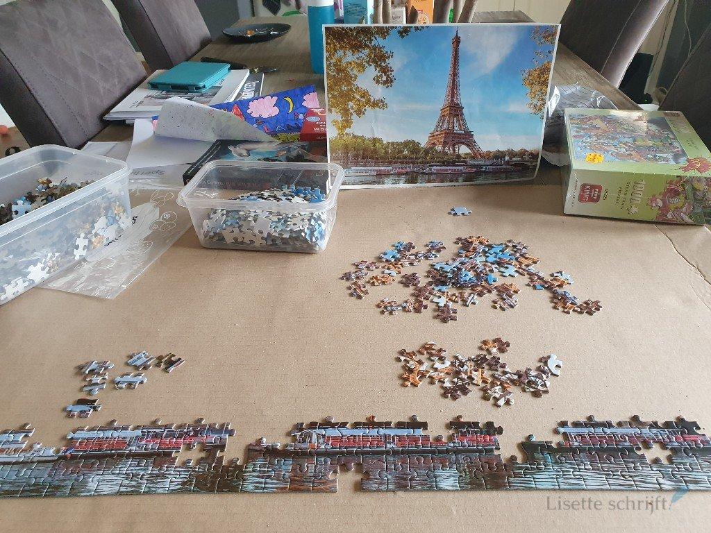 puzzelen als corona-hobby