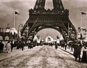 Champs de Mars, 1900 @Emile Zola (Collection Château d'Eau, Toulouse et Musée du Jeu de Paume)