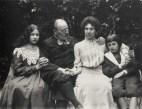 Jeanne et les enfants @Emile Zola (Collection Château d'Eau, Toulouse et Musée du Jeu de Paume)