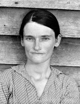 @Walker Evans Alabama Cotton Tenant Farmer's Wife (Allie Mae Burroughs), 1936
