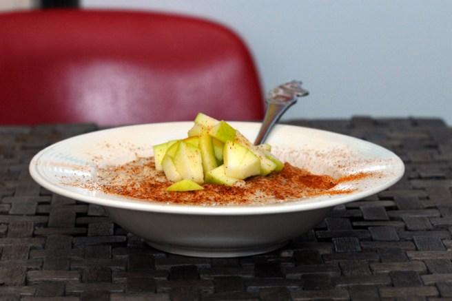 Dropp smørøyet, ha i eplebiter i stedet. Foto: Lise von Krogh.
