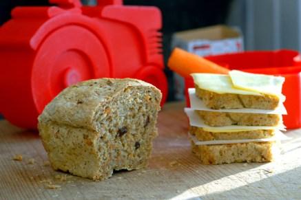 Matpakke til Jr. Foto: Lise von Krogh.