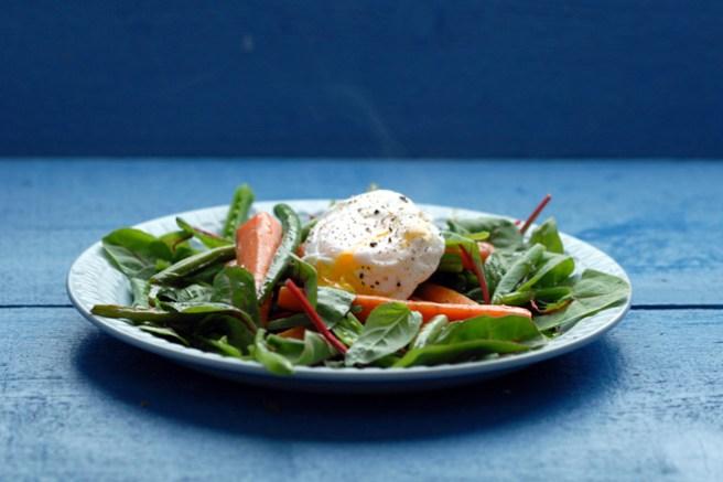 Sunn og mettende salat. Foto: Lise von Krogh.