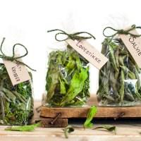 Hjemmelaget urtekrydder og te