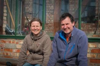 Eksperter på økologisk dyrking Birgitte og Arvid Udo de Haes. Foto: Lise von Krogh ©