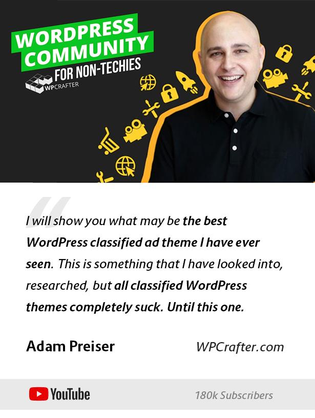 Lisfinity - Classified Ads WordPress Theme - 1