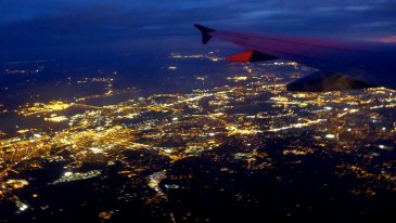 I've never flown at night and managed to stay awake! Really loved getting to see this while flying out of Philadelphia.