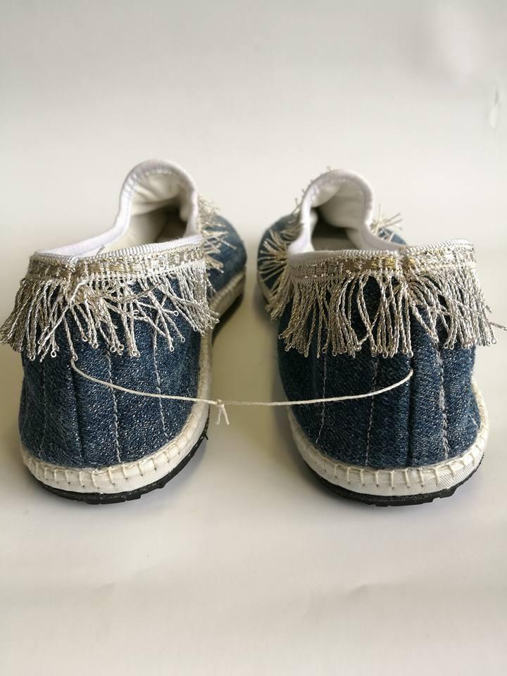 artigianato scarpez materiali riciclati
