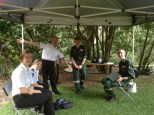 St John's ambulance cadets always available to take care of sick teddys or their carers