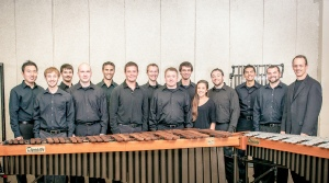 The University of North Texas Percussion Ensemble