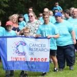 Living proof team at Liskeard Relay for Life