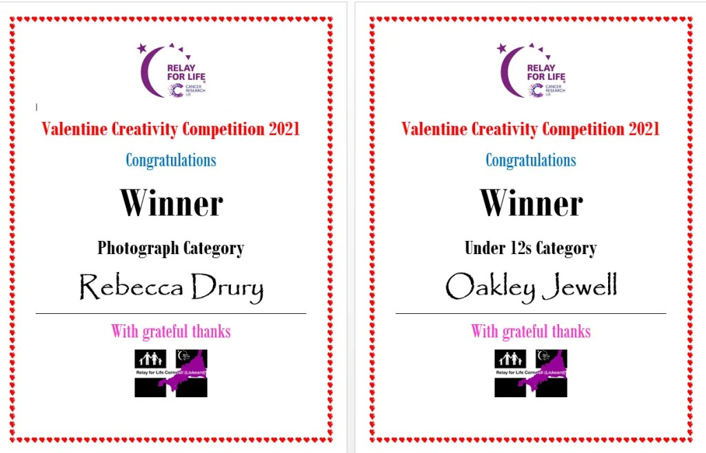 Creativity Competition Winners