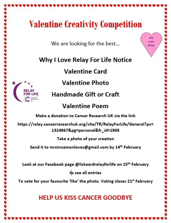 Valentine Creative Competition Poster