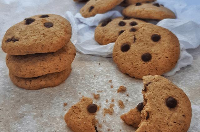 Glutenvrije chocochip koekjes