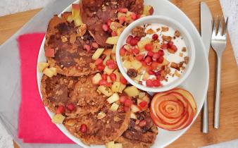 appel rozijnen pancakes